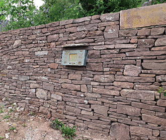 Stone Wall Horfield